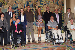 27.09.2010, La Zarzuela Palace, Madrid, ESP, Princess Letizia hearings at La Zarzuela Palace, im Bild Princess Letizia attended an audience to a representation of Amyotrophic Sclerosis Asociation, at La Zarzuela Palace. EXPA Pictures © 2010, PhotoCredit: EXPA/ Alterphotos/ Cesar Cebolla +++++ ATTENTION - OUT OF SPAIN / ESP +++++