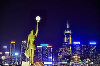 Chine, Hong Kong, Kowloon, Avenue of Stars // China, Hong Kong, Kowloon, Avenue of Stars
