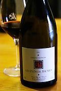 Les Plos de Baumes vin de pays de l'Herault 2002. Domaine d'Aupilhac. Montpeyroux. Languedoc. France. Europe. Bottle.