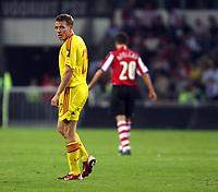 Photo: Chris Ratcliffe.<br /> PSV Eindhoven v Liverpool. UEFA Champions League, Group C. 12/09/2006.<br /> Craig Bellamy of Liverpool.