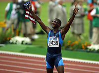Athletics, 26. august 2003, VM Paris, World Championship in Athletics,  Jerome Young, USA, 400 metres