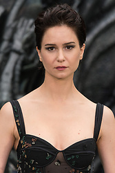 © Licensed to London News Pictures. 04/05/2017. London, UK. KATHERINE WATERSTON attends the Alien: Covenant world film premiere. Photo credit: Ray Tang/LNP