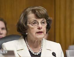 May 10, 2017 - Washington, District of Columbia, United States of America - United States Senator Dianne (Democrat of California), Ranking Member, US Senate Committee on the Judiciary makes a statement on the President's firing of FBI Director James Comey on Capitol Hill in Washington, DC on Wednesday, May 10, 2017..Credit: Ron Sachs / CNP (Credit Image: © Ron Sachs/CNP via ZUMA Wire)