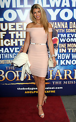 Image ©Licensed to i-Images Picture Agency. 11/06/2014. London, United Kingdom. Amy Willerton attends the first night of Alexandra Burke appearing in the starring role of The Bodyguard, at the  Adelphi theatre. Picture by i-Images