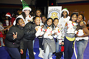 """l to r: Tara Plain and Cheryl Talley at The Ludacris Foundation's Holiday Party co-sponsored by Alize at the Mount Vernon Boys Club on December 18, 2008 in Mount Vernon, New York..Chris """"Ludacris"""" Bridges, William Engram and Chaka Zulu were the inspiration for the development of The Ludacris Foundation (TLF). The foundation is based on the principles Ludacris learned at an early age: self-esteem, spirituality, communication, education, leadership, goal setting, physical activity and community service. Officially established in December of 2001, The Ludacris Foundation was created to make a difference in the lives of youth. These men have illustrated their deep-rooted tradition of community service, which has broadened with their celebrity status. The Ludacris Foundation is committed to helping youth help themselves"""