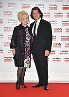 Dame Barbara Windsor and Scott Mitchell at the  Variety ShowBiz Awards  - annual showbiz awards and fundraiser for Variety, the Children's Charity at  London Hilton on Park Lane, London
