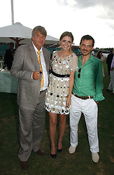 PAUL BARTON, his daughter actress MISCHA BARTON and MATTHEW WILLIAMSON at the Cartier International polo at Guards Polo Club, Windsor Great Park, on 30th July 2006.<br /><br />NON EXCLUSIVE - WORLD RIGHTS