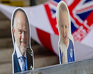 Fan cardboard cut outs during the EFL Sky Bet League 1 match between Bristol Rovers and Ipswich Town at the Memorial Stadium, Bristol, England on 19 September 2020.
