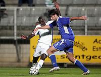 Fotball<br /> Frankrike<br /> Foto: Dppi/Digitalsport<br /> NORWAY ONLY<br /> <br /> FOOTBALL - UEFA CUP 2006/2007 - 1ST ROUND - 2ND LEG - AJ AUXERRE v DINAMO ZAGREB - 28/09/2006<br /> <br /> KANGA AKALE (AUX) / VEDRAN CORLUKA (DIN)