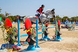 Van der Meerschen Nikita, BEL, Impressario van de Heffinck, v. Diabeau<br /> FEI Jumping European Championships for Young Riders, Juniors, Children - Vilamoura 2021<br /> © Hippo Foto - Leanjo de Koster<br /> 21/07/2021