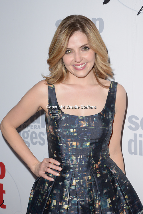 JEN LILLEY at Soap Opera Digest's 40th Anniversary party at The Argyle Hollywood in Los Angeles, California
