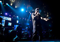 Jay-Z performs at the Adult Swim Upfront Party at the Roseland Ballroom in New York...Photo by Robert Caplin.