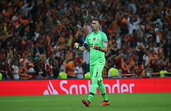 September 18, 2018 - °Stanbul, Türkiye - Galatasaray's Fernando Muslera   during Galatasaray - Lokomotiv Moskova UEFA Champions League Game at Turk Telekom Arena, 18th of Sept. 2019. (Credit Image: © Tolga Adanali/Depo Photos via ZUMA Wire)