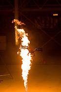 Shooting of the new children TV show Airmageddon at Hanger 2, Cardington Studios, Bedford, MK42 0TF<br /> Set flying zone