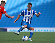 Brighton central midfielder Beram Kayal during the Sky Bet Championship match between Brighton and Hove Albion and Blackburn Rovers at the American Express Community Stadium, Brighton and Hove, England on 22 August 2015. Photo by Bennett Dean.