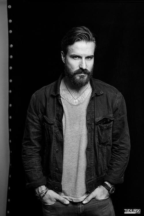 Warszawa, Polska; 19.10.2018r. Piotr Stramowski aktor.<br /> Fot. Adam Tuchliński dla Playboy