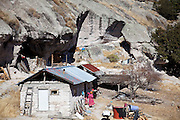 Tarahumara indian village, Creel, Copper Canyon, Chihuaua, Mexico