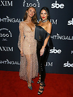 Olivia Davis and Elizabeth Smith at MAXIM Magazine's Official Release of their Sept./Oct. Issue Hosted by Cover Model Vita Sidorkina held at Nightingale on September 28, 2019 in Los Angeles, California, United States (Photo by © VipEventPhotography.com