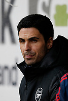 Football - 2019 / 2020 Premier League - Burnley vs. Arsenal<br /> <br /> Arsenal manager Mikel Arteta before today's game, at Turf Moor.<br /> <br /> <br /> COLORSPORT/ALAN MARTIN