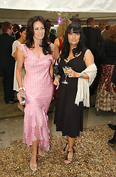 TRISH SIMONON and PLAXY LOCATELLI at theThe Summer Ball in Berkeley Square , Londin W1 in aid of the Prince's Trust on 6th July 2006.<br /><br />NON EXCLUSIVE - WORLD RIGHTS