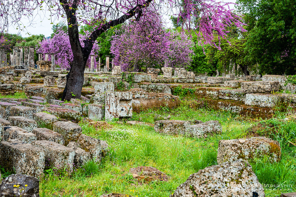 Olympia, Greece. The site of the Olympic Games in classical times.