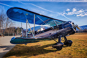 HDR photo of a 1935 Waco YPF-6