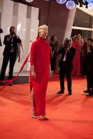 Tilda Swinton at the premiere gala screening of the film Suspiria at the 75th Venice Film Festival, Sala Grande on Saturday 1st September 2018, Venice Lido, Italy.