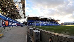 A general view of Peterborough United's ABAX Stadium - Mandatory byline: Joe Dent/JMP - 10/02/2016 - FOOTBALL - ABAX Stadium - Peterborough, England - Peterborough United v West Brom - FA Cup Forth Round Replay
