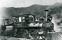 1895 Cahuenga Valley Railroad in Hollywood