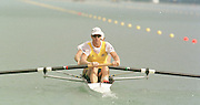 1999 World Rowing Championships St Catherines Canada. AUS M2- James Tomkins  and Bow Drew Ginn. [Mandatory Credit Peter Spurrier Intersport Images] 1999 FISA. World Rowing Championships, St Catherines, CANADA