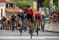 Winner Phil BAUHAUS of BAHRAIN VICTORIOUS during the 5th Stage of 27th Tour of Slovenia 2021 cycling race between Ljubljana and Novo mesto (175,3 km), on June 13, 2021 in Slovenia. Photo by Vid Ponikvar / Sportida
