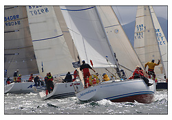 The third days racing at the Bell Lawrie Yachting Series in Tarbert Loch Fyne. Perfect conditions finally arrived for competitors on the three race courses...2198C Moondance IRC Class 3.