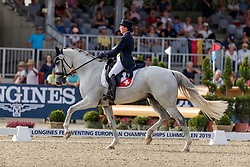 Realini Tiziana, SUI, Toubleu de Rueire<br /> European Championship Eventing<br /> Luhmuhlen 2019<br /> © Hippo Foto - Stefan Lafrentz