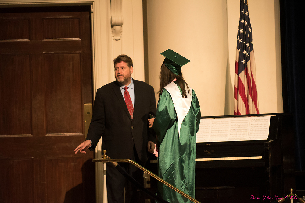 Caroline graduation. Constitution Hall, Washington, D.C.  June 3, 2019<br /> ©2019, Donna Fisher Photo, LLC