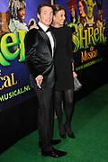 Gala-première Shrek de Musical in het RAI theater, Amsterdam.<br /> <br /> Op de foto:  Prins Maurits en prinses Marilene
