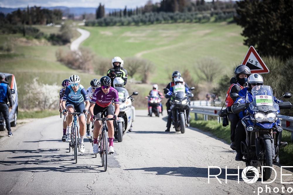 Chantal van den Broek-Blaak (NED/SDWorx)<br /> <br /> 7th Strade Bianche Women Elite <br /> Siena > Siena 136km<br /> <br /> ©RhodePhoto