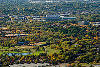 Boise State University from Table Rock