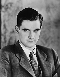 Jan. 1, 1970 - Howard Hughes (1905-1976), American Businessman, Aviator, Engineer, Film Producer, Director and Philanthropist, Portrait, Circa 1930's (Credit Image: © Glasshouse/ZUMAPRESS.com)