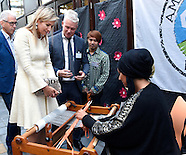 Koningin Maxima woont de viering bij van het tienjarig bestaan van de stichtin