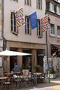 flags athenaeum book shop pl carnot beaune cote de beaune burgundy france