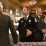 9/10/2014 -- White House Visitor Center --Robert MacLean, Chief of the United States Park Police, at the opening event for the White House Visitor Center.