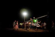 Mennonite youth night - softball and vollyball.