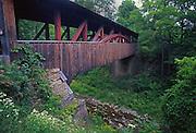 Covered Bridge, near US Rt.# 6, Northcentral Pennsylvania, KNAPP'S, LUTHER MILLS BRIDGE