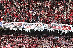 08.05.2010, easyCredit Stadion, Nuernberg, GER, 1. FBL, 1 FC Nuernberg vs 1 FC Koeln, im Bild: .FC Nuernberg Fabs mit Banner und Schals.EXPA Pictures © 2010, PhotoCredit: EXPA/ nph/  news / SPORTIDA PHOTO AGENCY