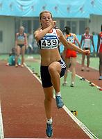 Friidrett<br /> Junior-VM 2006<br /> Beijing Kina<br /> 17.08.2006<br /> Foto: Hasse Sjøgren, Digitalsport<br /> <br /> Oda Utsi Onstad