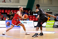 Jordan Nicholls of Bristol Flyers - Photo mandatory by-line: Robbie Stephenson/JMP - 11/01/2019 - BASKETBALL - Leicester Sports Arena - Leicester, England - Leicester Riders v Bristol Flyers - British Basketball League Championship