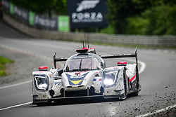 June 17, 2018 - Le Mans, France - 50 LARBRE COMPETITION (FRA) LIGIER JSP217 GIBSON LMP2 ERWIN CREED (FRA) ROMANO RICCI (FRA) THOMAS DAGONEAU  (Credit Image: © Panoramic via ZUMA Press)