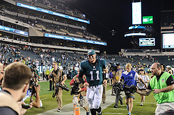 during the game against the Pittsburgh Steelers on Sept. 24, 2016 at Lincoln Financial Field in Philadelphia, Pa. The Philadelphia Eagles won 34-3. (Photo by John Geliebter/Philadelphia Eagles)