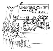 Lunchtime Concert: New Work by John Cage