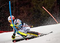 05.03.2017, Podkoren, Kranjska Gora, SLO, FIS Weltcup Ski Alpin, Kranjska Gora, Slalom, Herren, 1. Lauf, im Bild Linus Strasser (GER) // Linus Strasser of Germany in action during his 1st run of men's Slalom of FIS ski alpine world cup at the Podkoren in Kranjska Gora, Slovenia on 2017/03/05. EXPA Pictures © 2017, PhotoCredit: EXPA/ Johann Groder